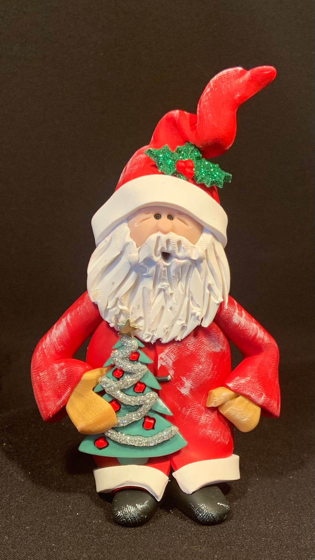 Shorty Santa #102 One-of-a- Kind