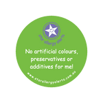 No Artificial Colours, Preservatives or Additives - sticker