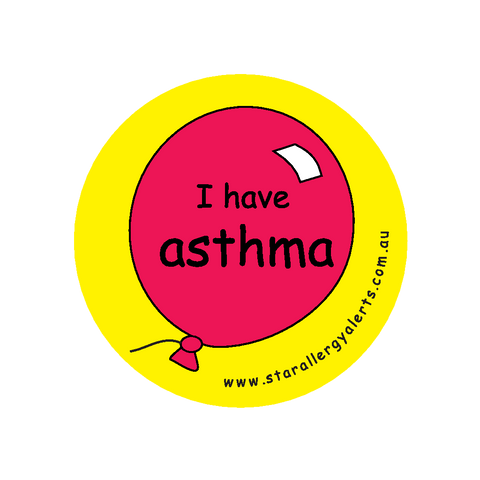 I have Asthma - badge