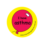 I have Asthma - sticker