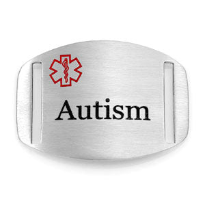 Stainless Steel Engravable Autism Tag