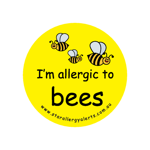 I'm allergic to Bees - sticker