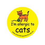 I'm allergic to Cats - badge