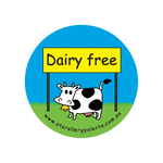 Dairy Free - sticker