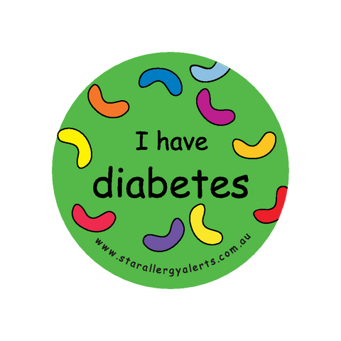 I have diabetes - badge