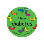 I have diabetes - sticker