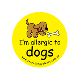 I'm allergic to Dogs - badge