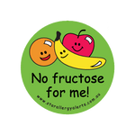 No Fructose - sticker