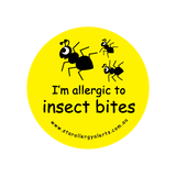 I'm allergic to Insect Bites - sticker