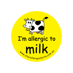 I'm allergic to Milk - sticker
