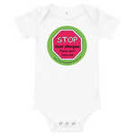 Stop Food Allergies Please don't feed me Baby Bodysuit