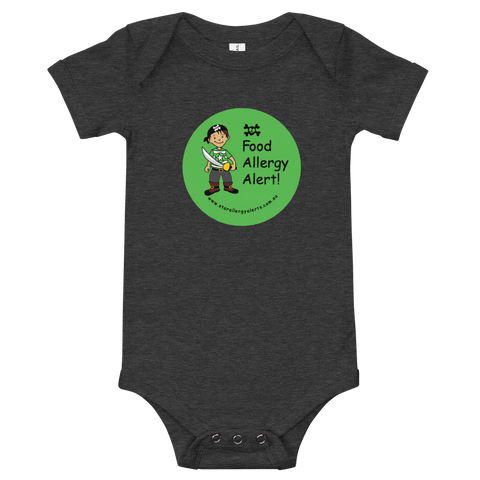 Food Allergy Alerts Baby Bodysuit