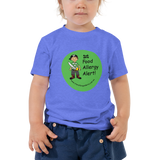 Food Allergy Alert Toddler T-Shirt