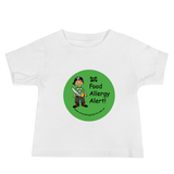 Food Allergy Alert Baby T-Shirt