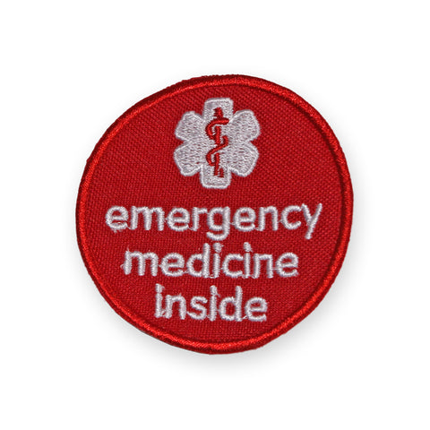 Emergency Medicine Inside sew-on badge