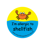 I'm allergic to Shellfish - sticker