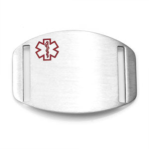 Stainless Steel Engravable Medical Tag