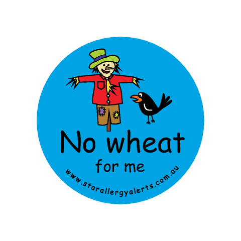 No Wheat for Me - badge