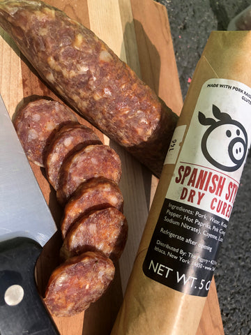 Spanish Style Dry Cured Chorizo