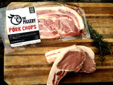 Pastured Bone-in Pork Chops ( 2 chops/pack)
