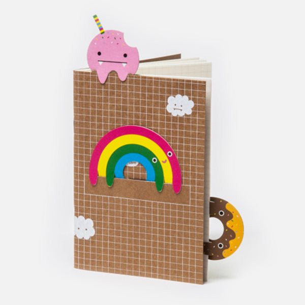 NOODOLL - RAINBOW BOOKMARK NOTEBOOK