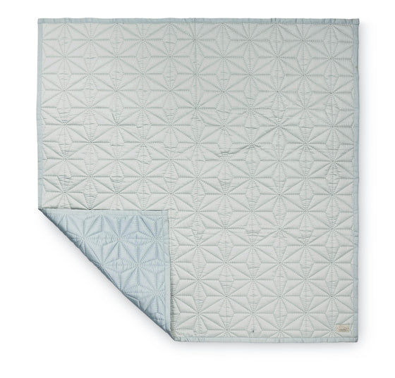 CAM CAM - BABY QUILT - MINT - Ivy Cabin