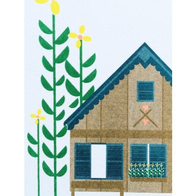 SCOUT EDITIONS - LOG CABIN PRINT
