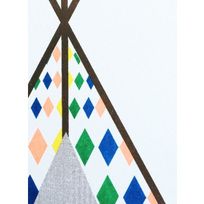 SCOUT EDITIONS - Teepee PRINT A5