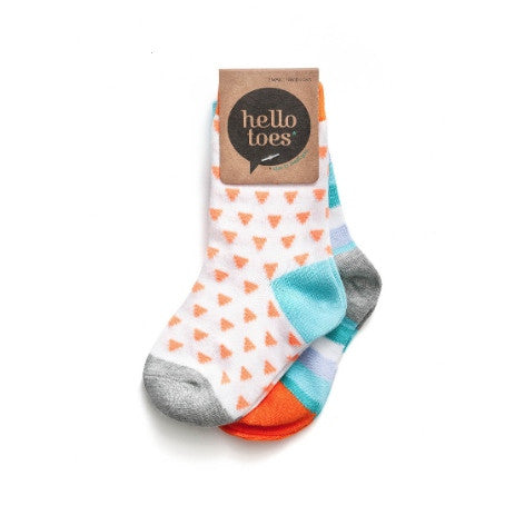 HELLO TOES - JUST TRI ME - CREW SOCKS - Ivy Cabin