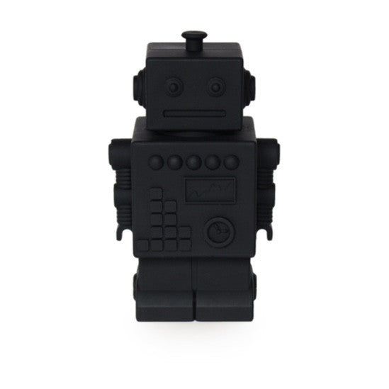KG DESIGN - ROBOT MONEY BOX - BLACK - Ivy Cabin