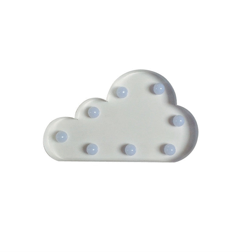 CLOUD BULB NIGHT LIGHT - WHITE - Ivy Cabin