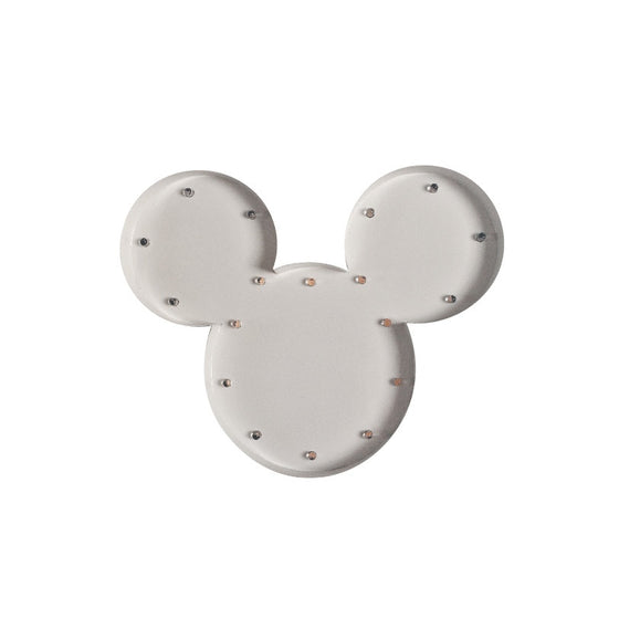 MICKEY BULB NIGHT LIGHT - WHITE - Ivy Cabin