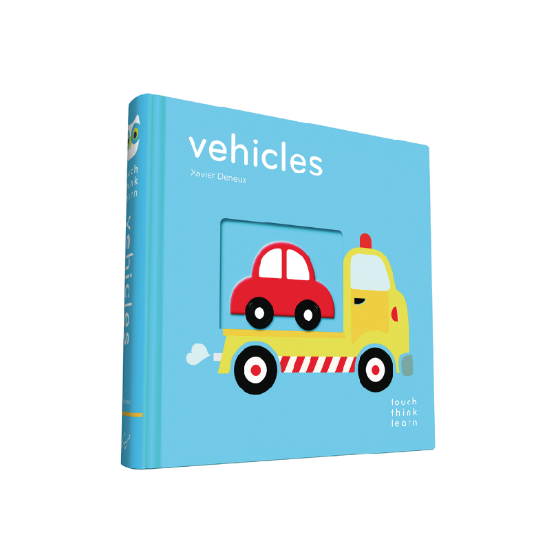 TouchThinkLearn - Vehicles By Xavier Deneux