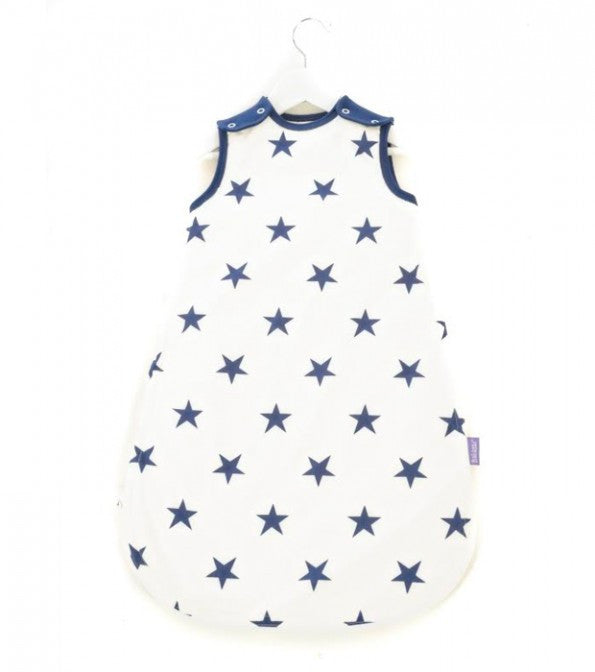 MAMA DESIGNS - BABASAC SLEEPING BAG - BLUE STARS