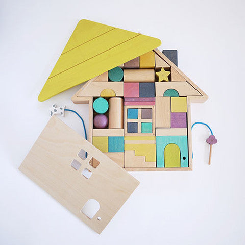 KUKKIA - GG* TSUMIKI WOODEN HOUSE BUILDING BLOCKS - Ivy Cabin