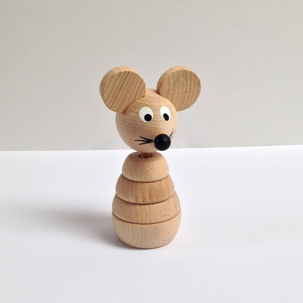 WOODEN BUILD UP MOUSE
