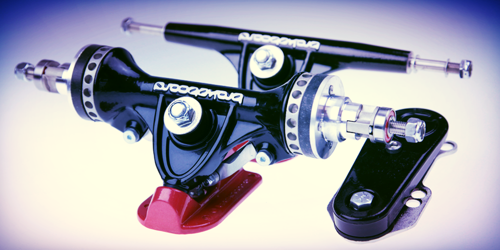 Brakeboard Black longboard trucks