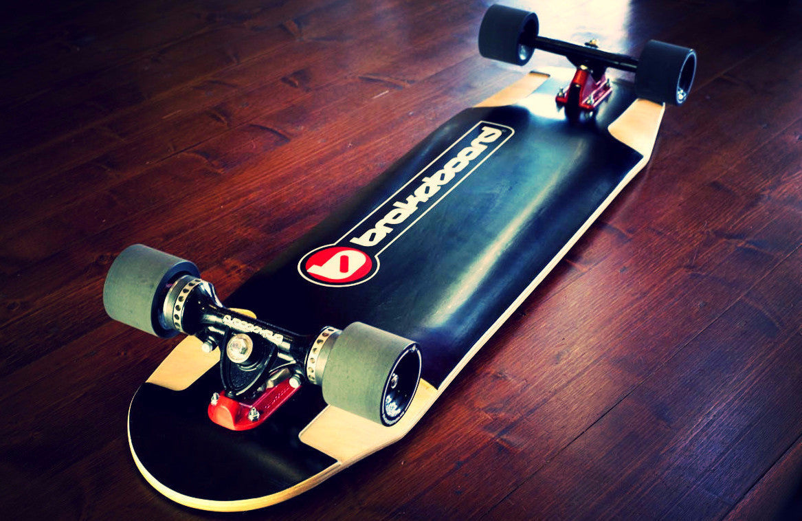 2016 Brakeboard Black design deck longboard