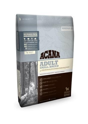 ACANA HERITAGE ADULT SMALL BREED 2 KG - Hondenhappiness