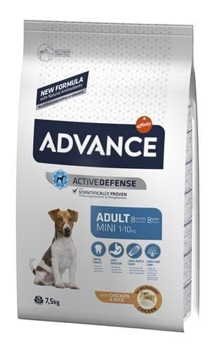 ADVANCE MINI ADULT 7,5 KG HOND ADVANCE