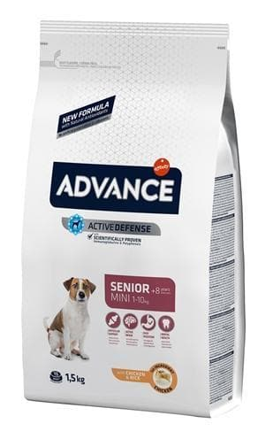 ADVANCE MINI SENIOR 1,5 KG HOND ADVANCE
