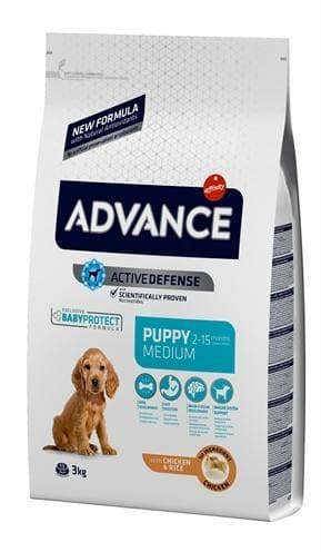 ADVANCE PUPPY PROTECT MEDIUM 3 KG - Hondenhappiness