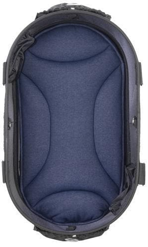 AIRBUGGY MAT VOOR DOME2 SM DENIM BLAUW 48X28 CM HOND AIRBUGGY