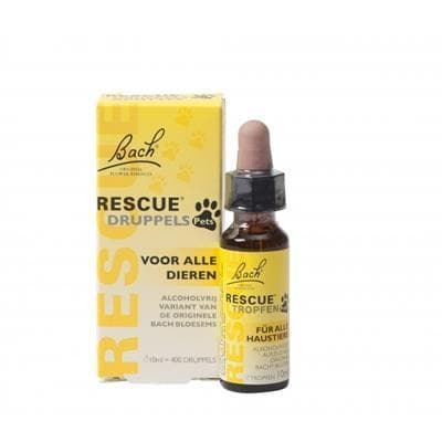 BACH RESCUE REMEDY PETS DRUPPELS 10 ML - Hondenhappiness