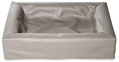BIA BED KUNSTLEER HOES HONDENMAND TAUPE BIA-45 45X45X12 CM - Hondenhappiness
