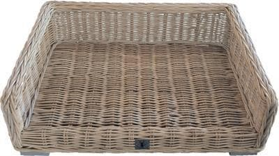 BOONY EST1941 HONDENMAND ROTAN BED 100X70 CM - Hondenhappiness