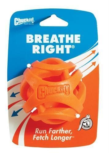 CHUCKIT BREATHE RIGHT FETCH BAL ORANJE 7 CM - Hondenhappiness