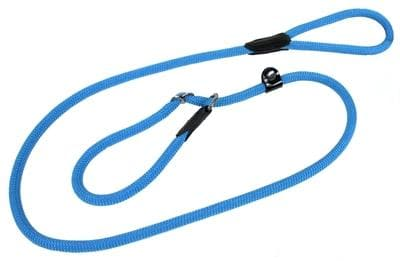 HUNTER RETRIEVERLIJN MET STOP FREESTYLE TURQUOISE 10 MMX170 CM - Hondenhappiness