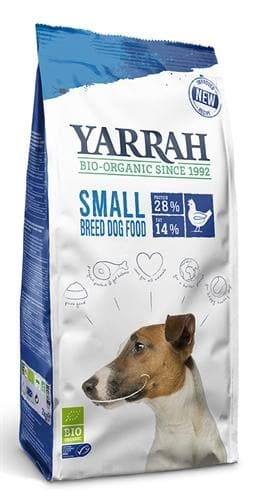 YARRAH DOG BIOLOGISCHE BROKKEN SMALL BREED KIP 2 KG - Hondenhappiness