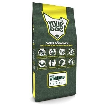YOURDOG ITALIAANSE WINDHOND SENIOR 12 KG - Hondenhappiness